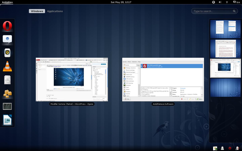 Le Clic de MaXoE : Fedora 15 et GNOME 3