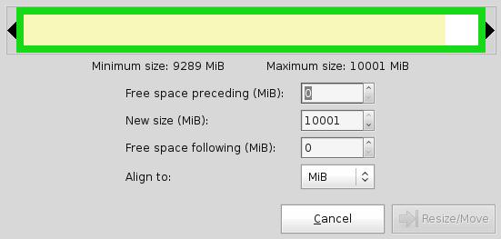 Le Clic de MaXoE: GParted, partitions et formatage