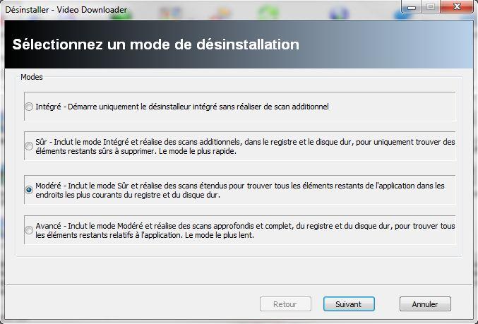 Le Clic de MaXoE : Revo Uninstaller