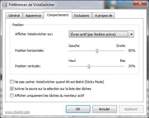 Le Clic de MaXoE : VistaSwitcher